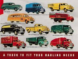 Vintage Ford Truck Brochures - nostalgia on wheels 1942 chevrolet trucks brochure specs