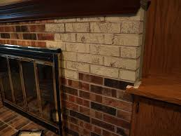 Fireplace Brick Stain by Painting A Brick Fireplace With Chalk Paint Hometalk
