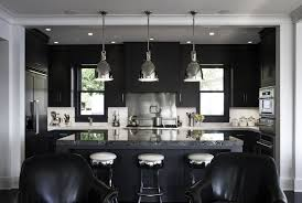 Backsplash For Black Cabinets - kitchen adorable black cabinet paint black gloss kitchen
