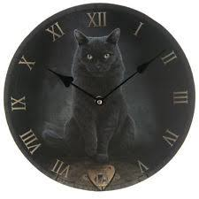 themed clock black cat wall clock ouija board numerals 30cm ebay