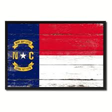 buy carolina state flag map modern style black custom made