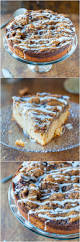 cinnamon roll coffee cake with cream cheese glaze averie cooks