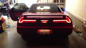 custom car tail lights nsx sequential led tail lights youtube