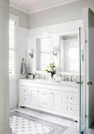 white bathroom bryansays