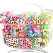 bead bracelet kit images Children s bead jewellery making kit jpg