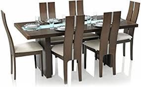 oak dining room set royal oak daffodil six seater dining table set walnut in