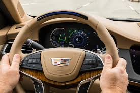 driving a 2018 cadillac ct6 with a full on auto pilot