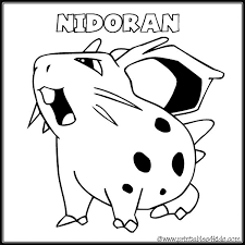 zombie pokemon coloring pages pokemon nidoran coloring page printables for kids free word