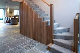 Glass Banister Uk Oak U0026 Glass Staircase Contemporary Staircase Manchester By