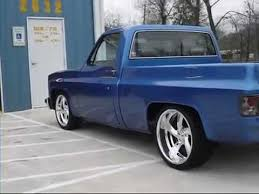 Wide Rims For Chevy Trucks My 1983 Chevy Truck C10 New Rims Youtube