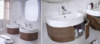 encurva bathroom furniture contemporary range bathrooms