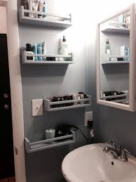 ikea bekvam spice racks as bathroom storage apt pinterest