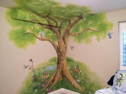 children s murals kids murals denver littleton g go fantasy tree mural