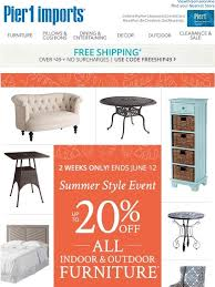 Patio Furniture Clearance Sale Free Shipping by Pier 1 All That On Sale Milled