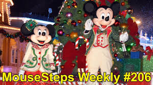 mousesteps weekly 206 mickey u0027s merry christmas party