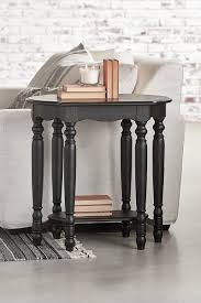 Sofa Table With Stools Living Room Magnolia Home