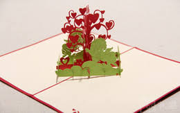 Wishing Tree Cards Pop Up Tree Card Online Christmas Tree Pop Up Card For Sale