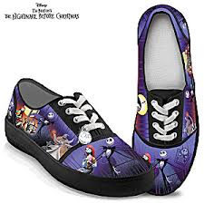 tim burtons the nightmare before canvas womens shoes