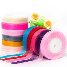 organza ribbon wholesale 50yards lot 5 8 15mm organza ribbons wholesale gift