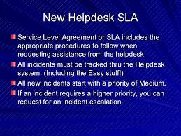 federal service help desk altiris my helpdesk console training