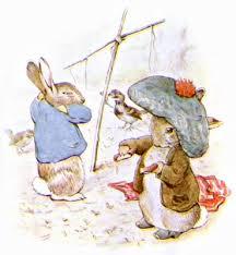 rabbit and benjamin bunny beatrix potter s tale of benjamin bunny bedtime stories