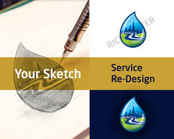 re design logo your sketch pack 1 simple by richhunter on