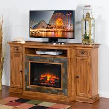 tv console with fireplace binhminh decoration