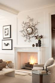 28 mantel decorating ideas for a fresh fireplace living room white