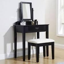 Shabby Chic Designer by Shaker Black Shabby Chic Designer Dressing Table With Mirror U0026amp