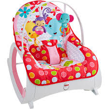 fisher price infant to toddler rocker baby seat bouncer chair play