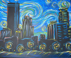 Minneapolis Flag Starry Night Over Minneapolis Fri Jan 26 7pm At Pinot U0027s Palette