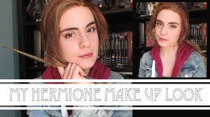 hermione granger make up youtube
