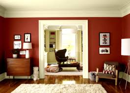 living room innovative dark red tone for modern living room