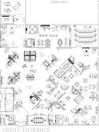 Floor Plan Furniture Symbols Interior Office Furniture Floor Plan Pertaining To Foremost