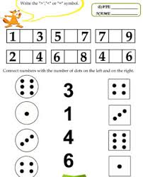 free printable kindergarten worksheets preschool kids maths images