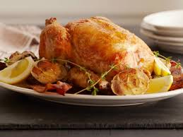 Ina Garten Roast Beef Lemon And Garlic Roast Chicken Recipe Ina Garten Food Network