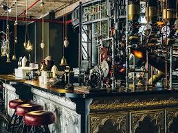 Steam Punk Interior Design Copper Brass And Bronze Items