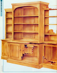 barrister bookcase plans woodwork woodworker 39 s journal modular