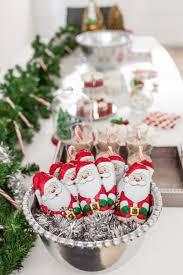 christmas dessert bar u0026 diy popcorn station fashionable hostess