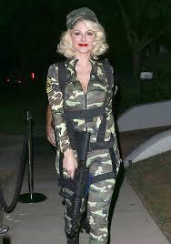 Army Halloween Costume Women Maria Menounos Paratrooper Maria Menounos Costumes