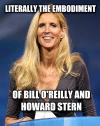 Bill O Reilly Meme Generator - livememe com literally ann coulter