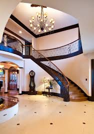 Grand Stairs Design Scroll Ideas Staircase Traditional With Crown Molding Custom