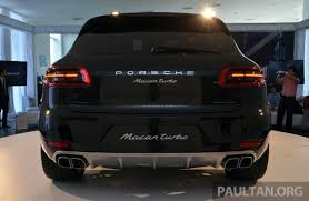 porsche cayenne price malaysia porsche macan previewed in malaysia 4 variants inc 4 cylinder turbo