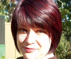 red highlights hairstyles women medium haircut