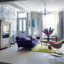 Living Room With Purple Sofa Dining Room Colour Schemes Purple Velvet Sofa Living Room Purple