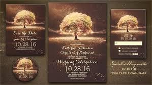 read more special lights tree wedding invitation