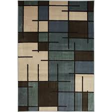 Menards Outdoor Rugs Mohawk Home Camden Grid Blue Area Rug At Menards Intended For Area