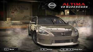 nissan supercar 2017 need for speed most wanted cars by nissan nfscars