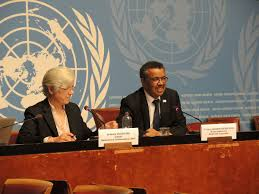 tedros warms up to press in first meeting sees clear mandate in
