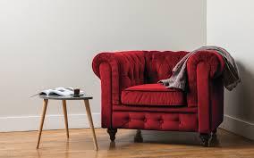 Red Velvet Chesterfield Sofa by Chesterfield Velvet Chair Charleston Classic Chesterfield Velvet